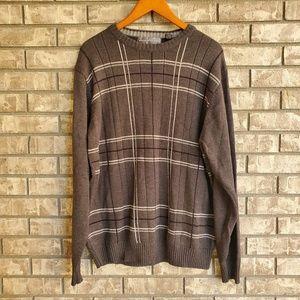 Oscar De La Renta sweater plaid men's